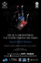 AFICHE 1 - DÍA DE LA DRAMATURGIA (2020)145 X 219