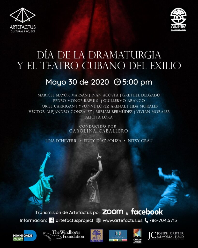 AFICHE 2 - DÍA DE LA DRAMATURGIA (2020)