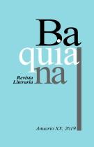 REVISTA LITERARIA BAQUIANA - ANUARIO XX - PORTADA 135 X 211