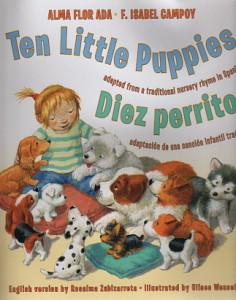 IC - TEN LITTLE PUPPIES - 323 X 411