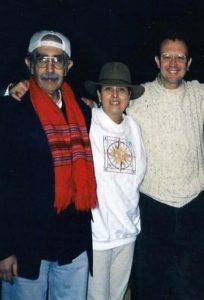 Alina G, Jose Corrales y Miguel Falquez en Manhattam 279 X 411