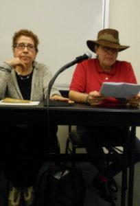 Alina G y Gladys Triana en Baruch College 279 X 411 (2)
