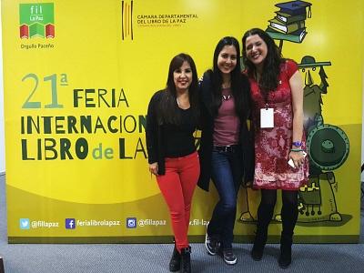 Giovanna Rivero - Feria del Libro de La Paz 400 X 300