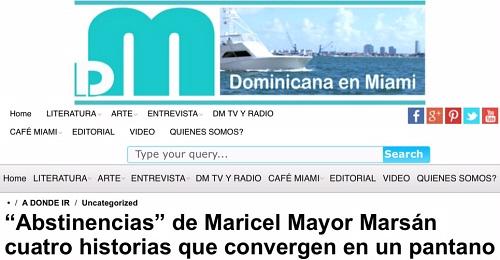 Abstinencias - Dominicana en Miami 500 X 260