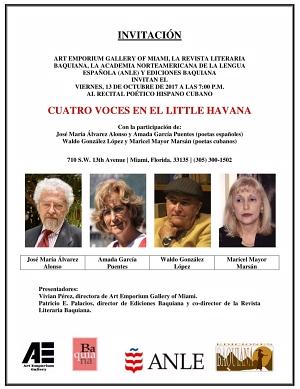 José María Álvarez - Art Emporium - Invitación 300 X 389