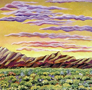 Serenity in the desert 295 X 300