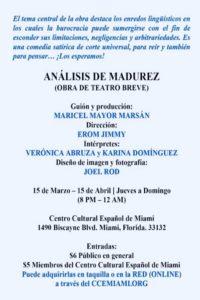 ANÁLISIS DE MADUREZ - Promocional 2 300 X 450