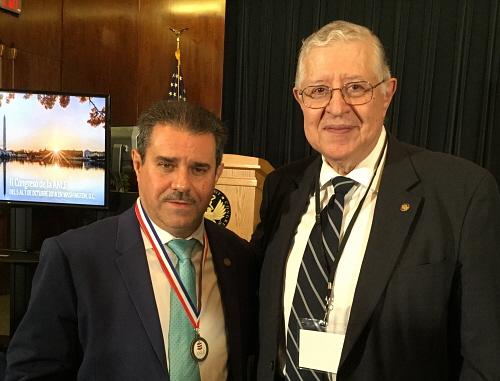 Carlos E Paldao junto a FRANCISCO J PÉREZ OCT 2018 500 X 381