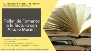 Arturo Morel Taller de Lectura