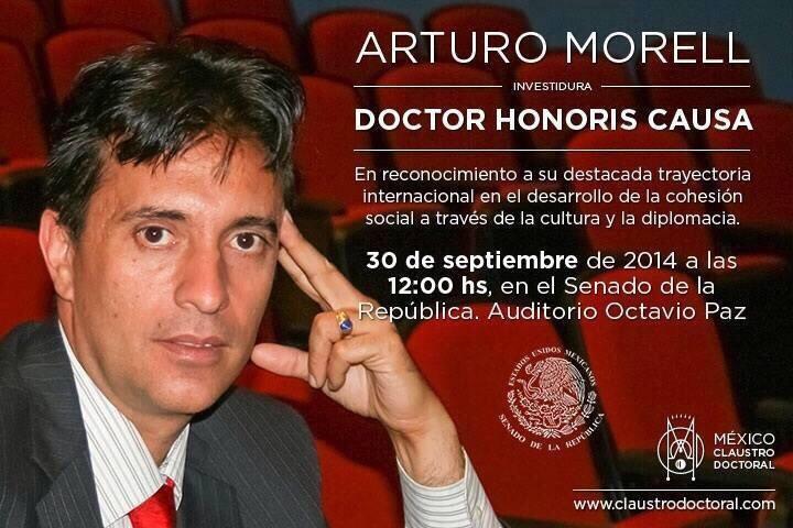 Arturo Morell Dr Honoris Causa