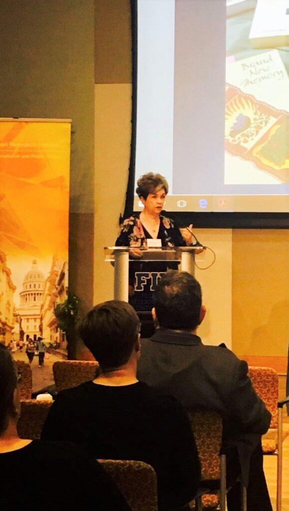 Eliana S. Rivero in FIU - Cuban Research Institute