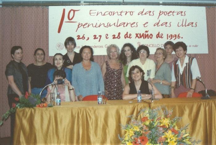 I Encuentro de Mujeres Poetas, Vigo 1996 - 700 X 570