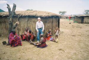 En una tribu de los Masaai Mara en Kenia, África 600 X 405